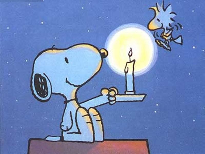 GANDHI - Pagina 2 Snoopy_candela1